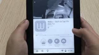 Hướng dẫn sử dụng máy đọc sách Bibox và cài đặt Waka
