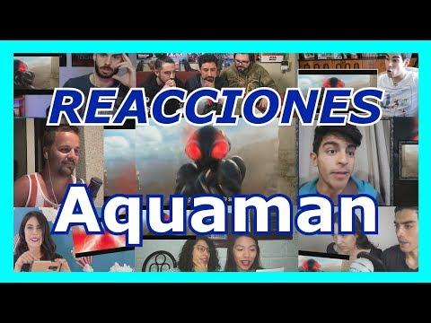 Recopilación de reacciones: Aquaman Trailer 1 | San Diego Comic Con 2018