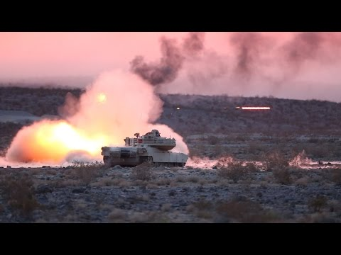 U.S. ARMY MILITARY POWER - SOLDIERS IN HEAVY COMBAT ACTION TRAINING