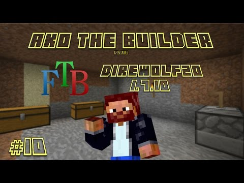 FTB DW20 Episode 10 - Redstone Arsenal tools & Sigil of the Green Grove