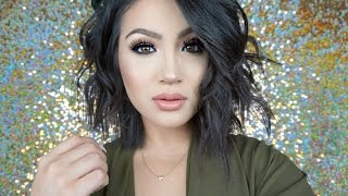 How I Style Short Hair   Messy Textured Waves