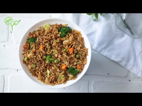 2-delicious-fried-rice-recipes-|-healthy-+-vegan