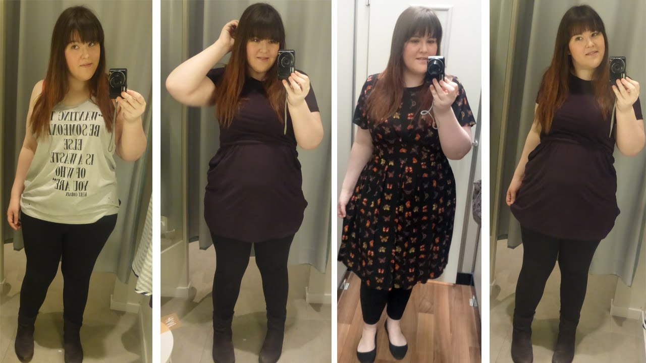 Trying On Spring/Summer Clothes (Size 18) ☾ Bunny Moonstone - YouTube
