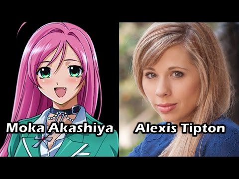 Characters and Voice Actors - Rosario + Vampire