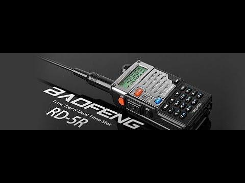 Baofeng DMR RD-5R Dual Band Tier 2 Handheld