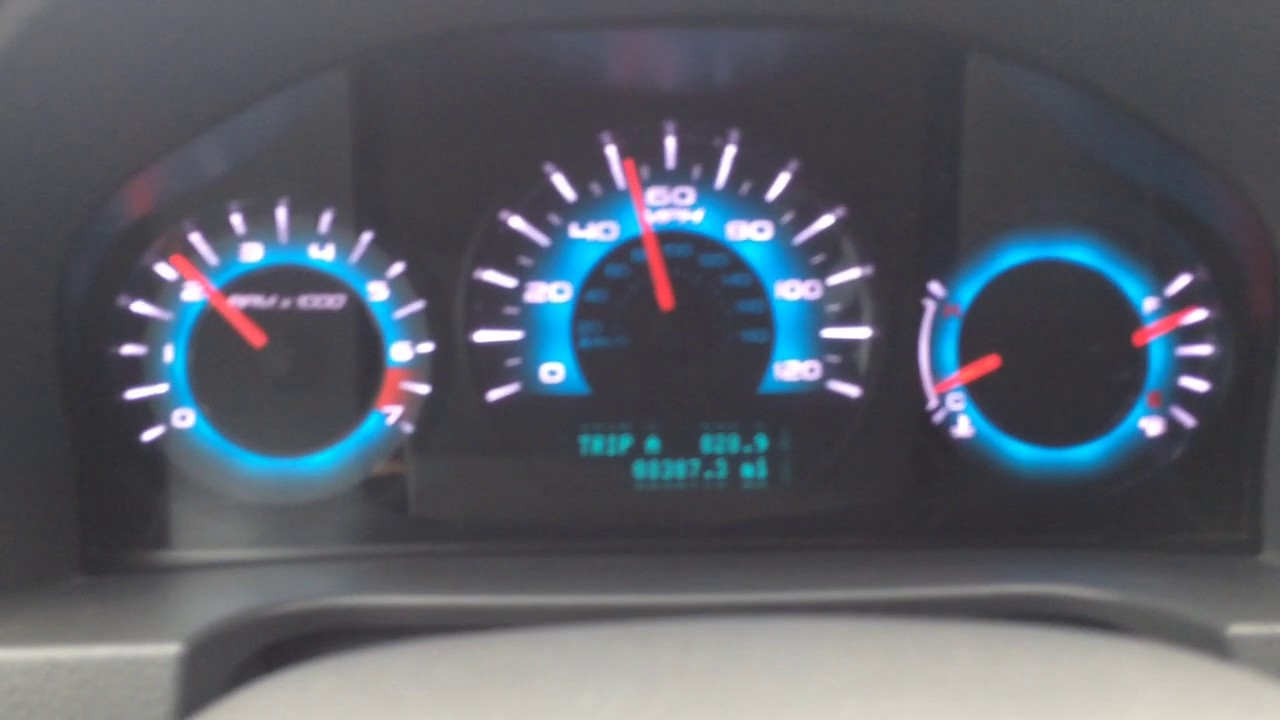 hight resolution of 2011 fusion 2 speedometer issue