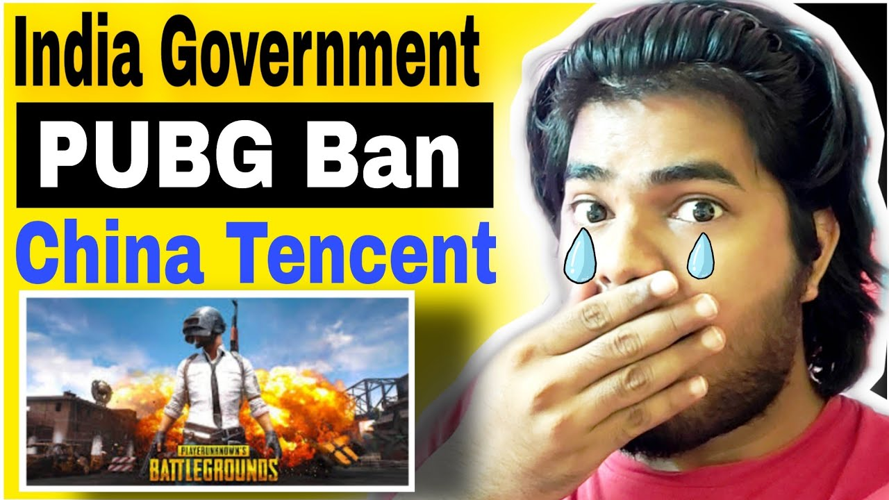 Pubg Mobile Ban in India | India Government BAN PUBG MOBILE | India Ban China App PUBG Mobile 😒😒😢