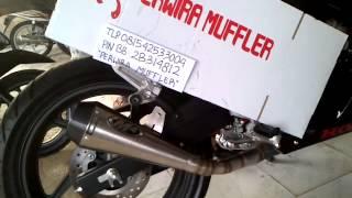 Knalpot Racing M4 New CBR 150 R AHM K45 LOKAL