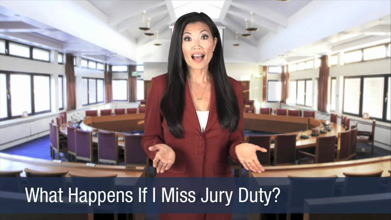 What Happens If I Miss Jury Duty?