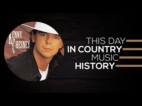 Kenny Chesney, Country Music Hall Of Fame, Tim McGraw | This Day In Country Music History
