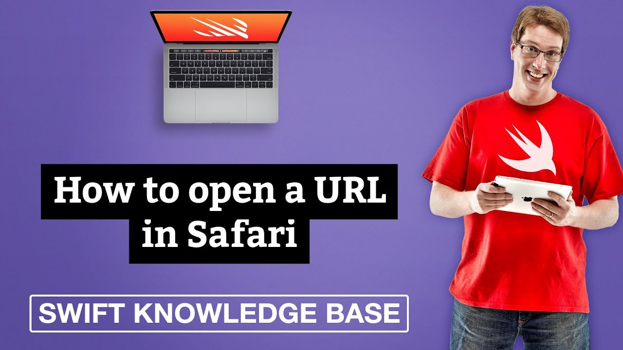 How to open a URL in Safari - free Swift 5 0 example code