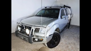 (SOLD) Turbo Diesel Manual 4×4 Nissan Navara D40 ST-X Dual Cab 2007 Review