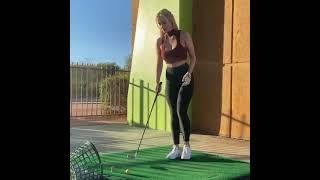 ♀헐리우드 남자 배우들이 줄서서 배우려고 한다는 골프…