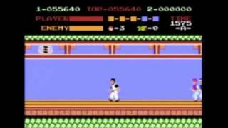Kung Fu - NES - Speed Run - NO CHEATS - NO DEATHS - NO DAMAGE