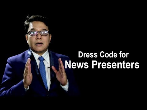 Dress code for presenters । Learn News Presentation