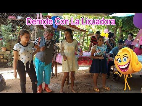 IDALMA Y LAURA SE ROBA EL SHOW 🎈⛷🤷♀️CON EL MOVIMIENTO DE LA LICUADORA - CUMPLEAÑOS DE LAURA - P / 5 thumbnail