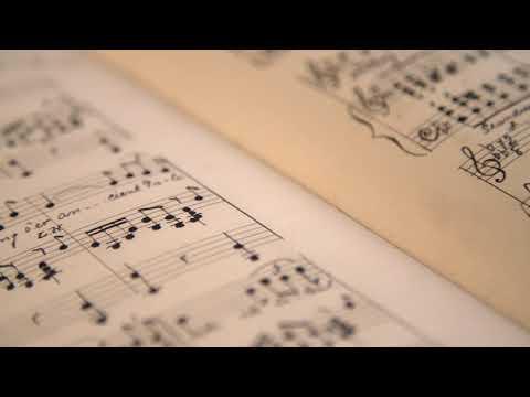 Hand-Drawn Sheet Music | Free Stock Video Footage