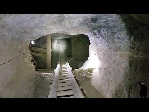 1800s horse-powered Hard Rock Underground Gold Mine