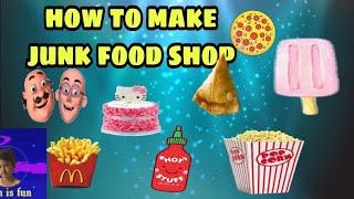DIY Crafts ideajunk food shop junk food homemade foodchallenge learn is fun junk food