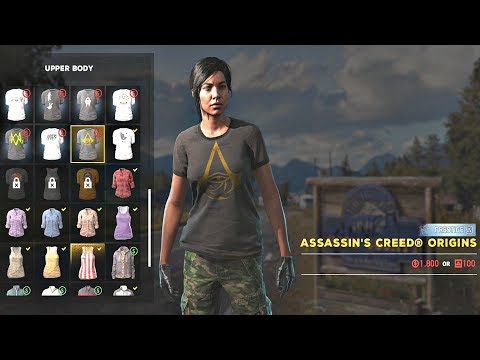 FAR CRY 5  - Character Customization ALL OUTFITS Showcase (All Clothes)