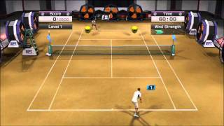 Virtua Tennis 4: Mini Game Compilation [HD]