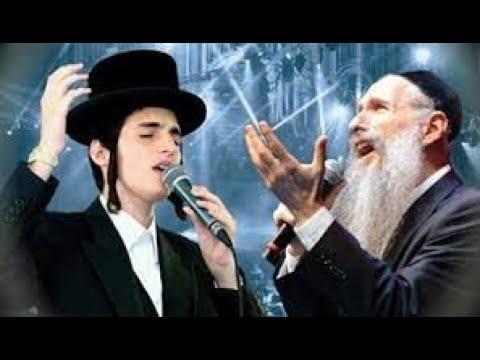 """""""שמע בני"""" - מרדכי בן-דוד ומוטי שטיינמץ. """"Shema Benny"""" - Mordechai Ben-David and Moti Steinmetz."""