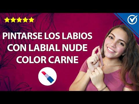 Cómo Maquillarte unos Labios Naturales con Pintalabios Nude o Color Carne 👄💄