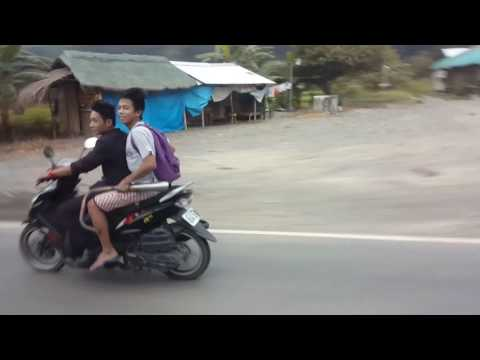 Driving Through The Streets of Solano, Nueva Vizcaya Philippines