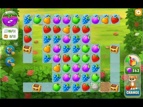 Garden Pets Puzzle Level 215  No Boosters