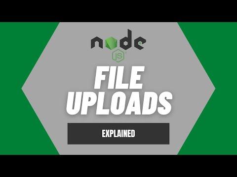 Understanding File Uploads In Node.js Using Multer - Web Development Concepts Explained