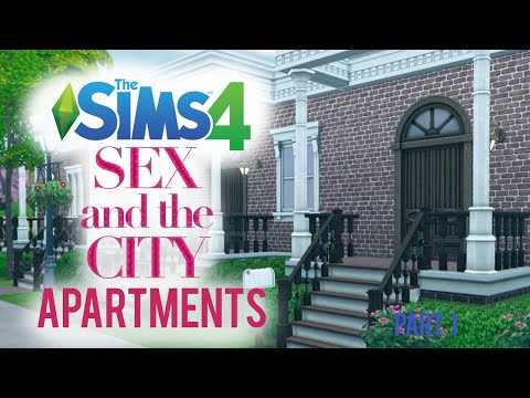 The Sims 4 — Furnishing SATC Apartments — Part 1/2