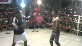 Tarung Bebas Genggong - Pertarungan 2 orang Tukang Becak
