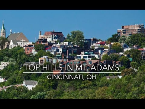 Mt. Adams Hills Cincinnati Ohio