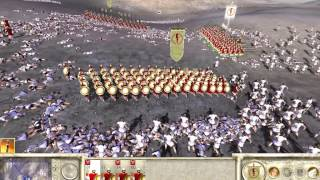 Rome Total War - 300 Spartans vs 10000 Peasants Thumbnail