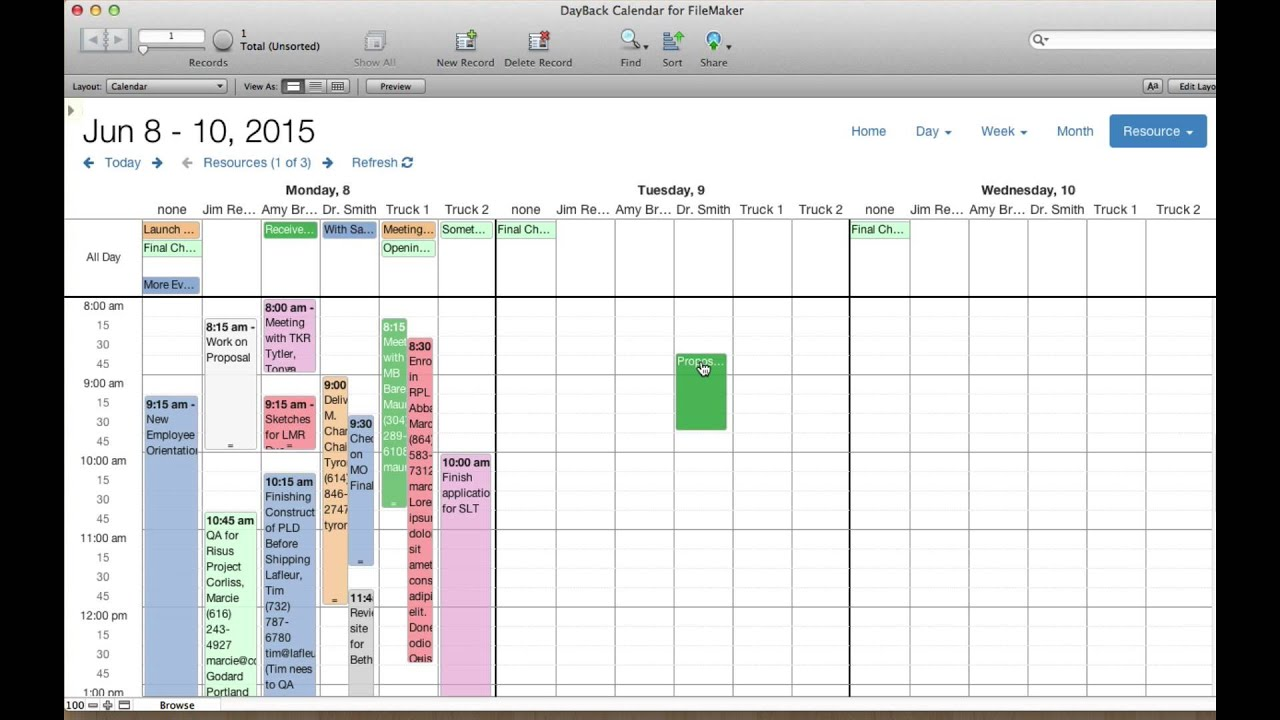 new multi day resource scheduling in dayback youtube