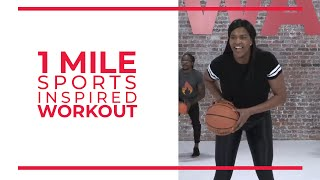 "1 Mile ""Sports-Inspired"" Workout by Walk at Home and Taja Wilson"