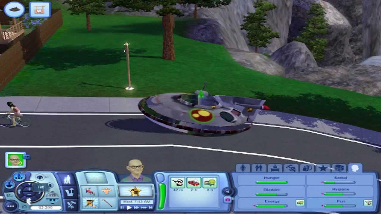 Mod Spotlight: Sims 3 - UFO Car