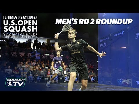 Squash: Men\'s Rd 2 Roundup - US Open 2018