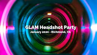 GLAM Headshot Party - January 2020