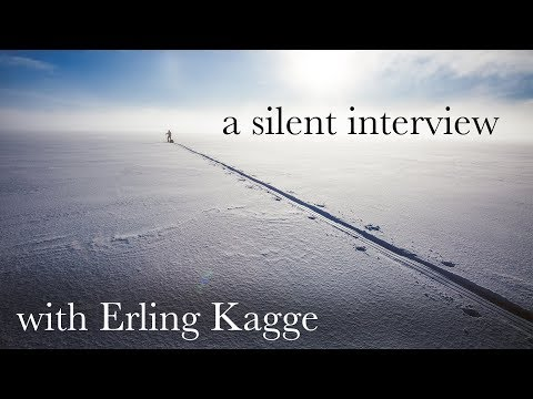 A silent interview with Erling Kagge