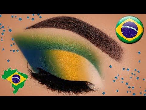 Maquiagem para a Copa! Russia World Cup 2018 ⚽ | Melissa Samways BR