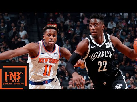 New York Knicks vs Brooklyn Nets Full Game Highlights | 10.19.2018, NBA Season