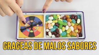 LAS GRAGEAS DE LOS MALOS SABORES - Juegos para niños