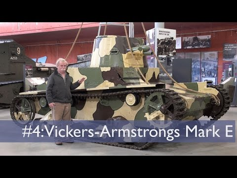 Tank Chats #4 Vickers Armstrongs Type E | The Tank Museum