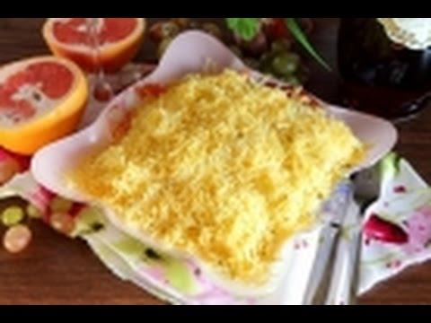 Салат с курицей и грибами! Салаты праздничные! Салат на праздничный стол!
