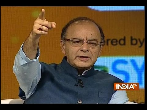 Finance Minister Arun Jaitley at IndiaTV Conclave 'Samvaad'