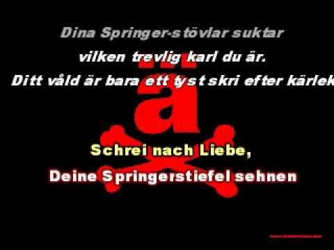 Die Ärzte - Schrei nach Liebe (med svensk översättning)