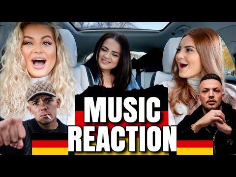 GERMAN MUSIC REACTION | SHIRIN DAVID, CAPITAL BRA, LOREDANA, RAF CAMORA, AZET, SAMRA