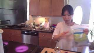 """""""chopped"""" Drill 1: Wild Alaska Canned Salmon Potato Pancake Video"""