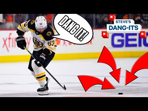 NHL Worst Plays Of The Week: Don't Forget The Puck!   Steve's Dang-It's